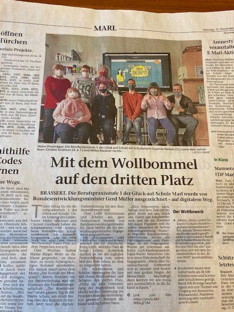 Pressebericht Bonny Bommel